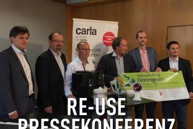 Vertreter des Umweltverbandes und des Landes Vorarlberg mit Experten