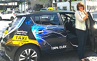 erstes eTaxi in Vorarlberg