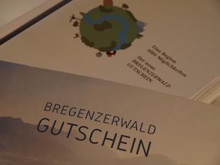 Bregenzerwald Gutschein