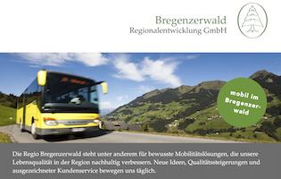Job im Bregenzerwald - MobilitätskoordinatorIn