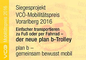 Siegesprojekt VCÖ-Mobilitätspreis Vorarlberg