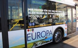 E-Bus im Testeinsatz